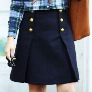 Gorgeous Jcrew skirt in navy blue color